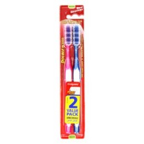 Colgate Double Action Toothbrush - Medium - Pack Of 2