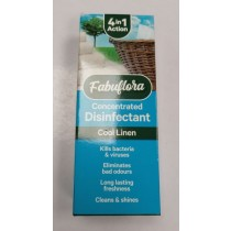 Fabuflora 4-in-1 Concentrated Disinfectant - Cool Linen - 150ml
