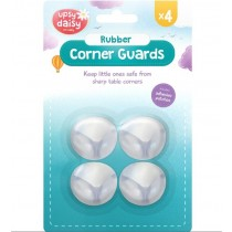 Upsy Daisy Rubber Corner Guards for Baby - Pack of 4