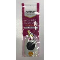 Crosby Shoe Care - High Heel Cushions - Black - Pack of 1 Pair