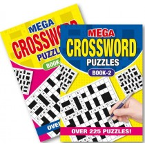 A5 Mega Crossword Book - 225 Puzzles