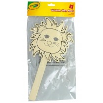 Crayola Wooden Play Mask - Lion