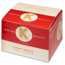 K Liquid Premium Quality E-Liquid - Classic Tobacco - 18mg - 10ml