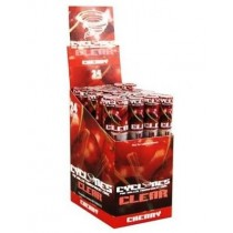 Cyclone Pre Rolled Clear Cone - Cherry - Pack Of 24