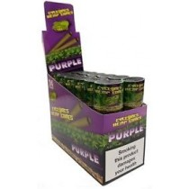 Cyclones Hemp Cones - Purple - 2 Per Tube - Pack of 24