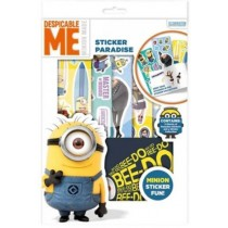 Despicable Me Minion Made Sticker Paradise