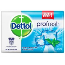 Dettol Pro-Fresh Antibacterial Bar Of Soap - Cool - 105g