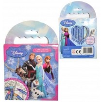 Disney Frozen Carry Along Colouring Set