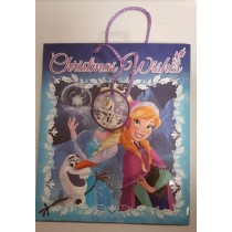 Disney Frozen Christmas Wishes Gift Bag - 32Cm X 27Cm