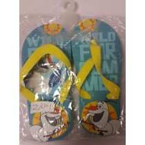 Disney Frozen Child'S Flip Flops - 1 Pair