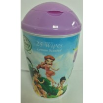 Disney Fairies Lemon Scented Wipes - Pack Of 25