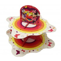 Disney - Minnie 2 Tier Cake Stand (Packaging Or Description Might Differ from Original Product)