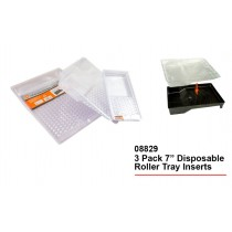 Disposable Roller Tray Inserts - Transparent - Pack of 3