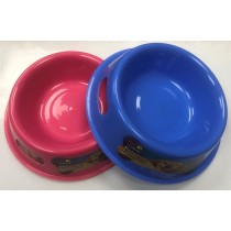 Pet Touch Round Pet Feeding Bowl - Colours May Vary