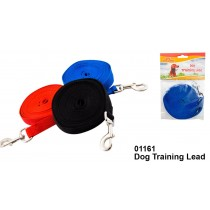 Dog Training Lead - 3 Colours - Colours May Vary - 15mm x 4.5m