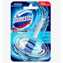 Domestos 3 In 1 Power Toilet Rim With Micro Particles - Ocean - 40G