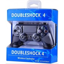 Double Shock Wireless Controller For PS4 - Black