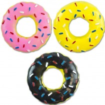 Pet Touch Doughnut Doggy Play Toy - Colours May Vary