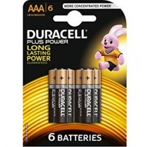 Duracell Plus Power Aaa Battery - Pack Of 6 - Exp 2019