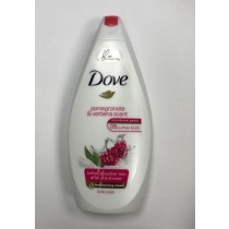 Dove 1/4 Moisturising Cream Body Wash - Pomegranate & Verbena Scent - 450ML