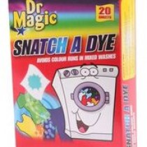 Xpel Brand - Dr Magic Snatch A Dye - Avoids Colour Runs In Mixed Washes - 20 Sheets