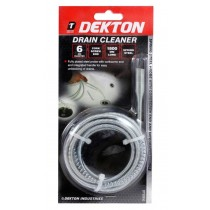 Dekton Spring Steel 6mm Drain Cleaner - 180cm