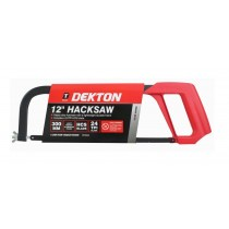 Dekton Heavy Duty Light Weight Aluminium Frame Hacksaw - 12""
