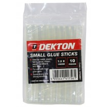 Dekton Quick Dry Small Glue Sticks - 0.7 x 10cm - Pack of 10