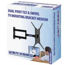 Dual Pivot Tilt & Swivel Tv Mounting Bracket - Medium - 13-47 Inch