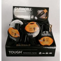 Duracell Super Clear Led Flash Light - Black/Gold