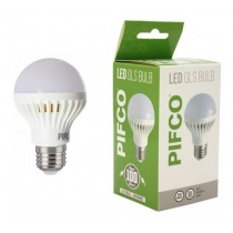 Pifco LED GLS Bulb - E27 Screw Cap - Cool White - 5W - 320 Lumens