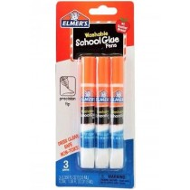 Elmer's Washable School Glue Pens with Precision Tip - 10.5ml - Pack of 3