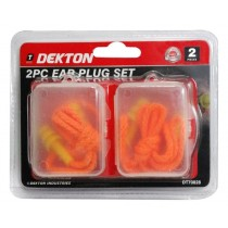 Dekton Anti-Allergy Silicon Ear Plug Set - Pack of 2