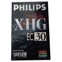 Philips XHG Megalife - EC30 Camcorder Video Cassette