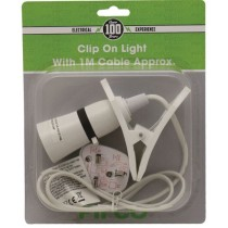 Pifco Electrical Clip On Light - 1 Metre