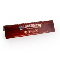 Elements Slow Burn Hemp Cigarette Papers - Kings Size Slim - 33 Leaves Per Pack - Box Of 50