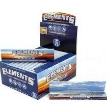 ELEMENTS ULTRA THIN RICE CIGARETTE PAPERS - KING SIZE SLIM - BOX OF 50