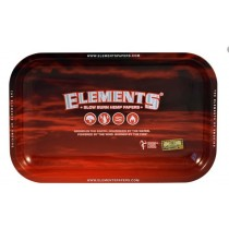 Small Elements Rolling Tray - Red - 17.5Cm X 27.5Cm
