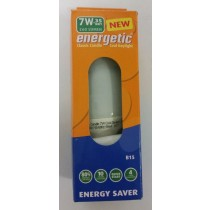 NEW ENERGETIC CLASSIC CANDLE LIGHT BULB - COOL DAYLIGHT