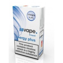 88 Vape E Liquid - Energy Plus - 11Mg - 10Ml