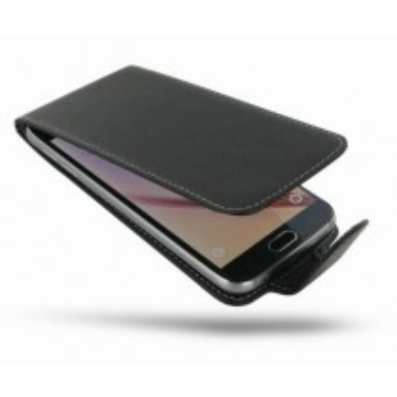 Huawei P8 Flip Case - Black
