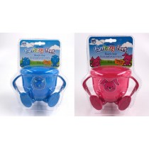 Smash Fantasy Feet Baby Snack Cup with Handles & Spill Safe Lid - Assorted Designs