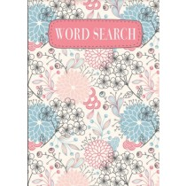 Floral Word Search Book
