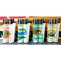 Clipper Classic Large Reusable Lighters - Food Leaves - Assorted Colours & Designs