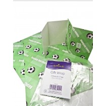 Hallmark Football Gift Wrapping Papers & Tags - Pack of 2 - 50cm X 70cm