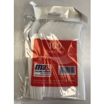 Plastic Forks - Standard - Pack Of 100