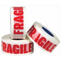 Fragile Strong Parcel Packing Tape - 48Mm X 150 Metres