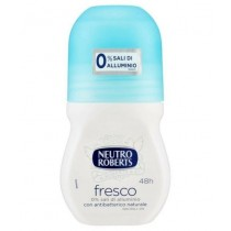 Neutro Roberts Dry Roll On Anti Perspirant Deodorant - Fresco - 50Ml
