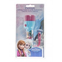 Disney Frozen LED Torch Flashlight with Batteries - For Age 3+ - 15.7 x 4cm