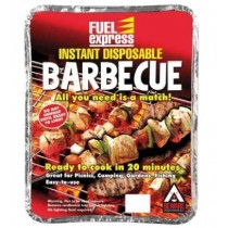 Fuel Express Instant Disposable Easy to Use Barbecue
